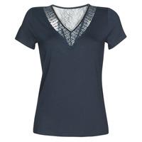 textil Dame T-shirts m. korte ærmer Morgan DOHAN Marineblå