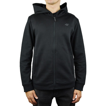 textil Herre Sweatshirts 4F Men Hoodie noir