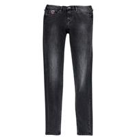 textil Pige Smalle jeans Pepe jeans PAULETTE Sort