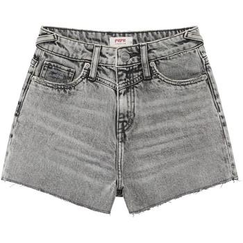 textil Pige Shorts Pepe jeans ROXIE Grå