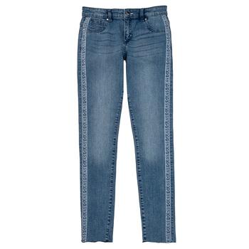 textil Pige Jeans - skinny Guess GABIN Blå