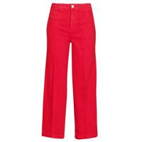 textil Dame Bootcut jeans Tommy Hilfiger BELL BOTTOM HW CCLR Rød