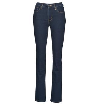 textil Dame Bootcut jeans Levi's 725 HIGH RISE BOOTCUT Blå