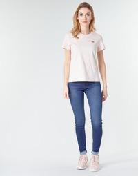 textil Dame Jeans - skinny Levi's 720 HIRISE SUPER SKINNY Echo / Storm