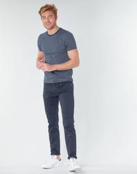 textil Herre Lærredsbukser Levi's 511™ SLIM FIT Marineblå
