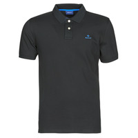 textil Herre Polo-t-shirts m. korte ærmer Gant GANT CONTRAST COLLAR PIQUE POLO Sort / Blå