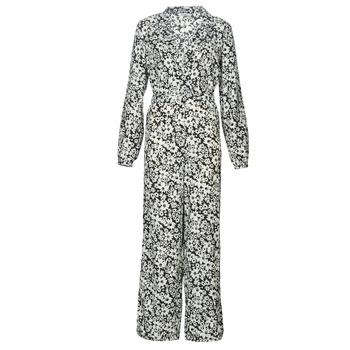 textil Dame Buksedragter / Overalls Only ONLOPHELIA Sort / Hvid
