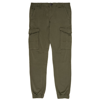 textil Dreng Cargo bukser Jack & Jones JJIPAUL Kaki