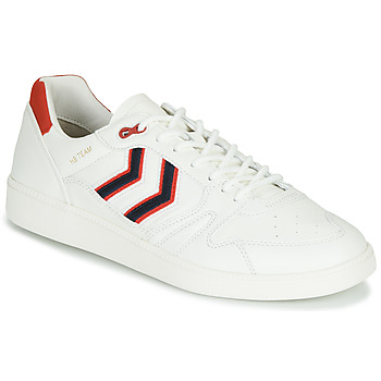 Sko Herre Lave sneakers Hummel HB TEAM CREST Hvid
