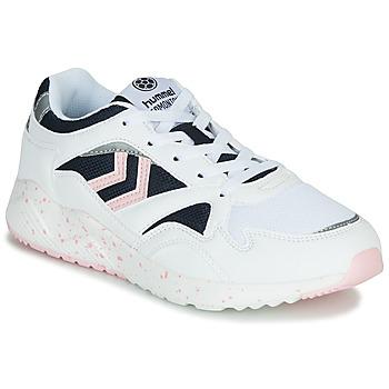 Sko Dame Lave sneakers Hummel EDMONTON Hvid
