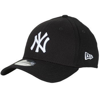 Accessories Kasketter New-Era LEAGUE BASIC 39THIRTY NEW YORK YANKEES Sort / Hvid