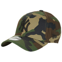 Accessories Kasketter New-Era LEAGUE ESSENTIAL 9FORTY NEW YORK YANKEES Camouflage / Kaki