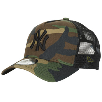 Accessories Kasketter New-Era CLEAN TRUCKER NEW YORK YANKEES Camouflage / Kaki