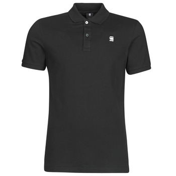 textil Herre Polo-t-shirts m. korte ærmer G-Star Raw DUNDA SLIM POLO SS Sort