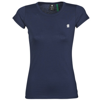 textil Dame T-shirts m. korte ærmer G-Star Raw Eyben slim r t wmn ss Sartho / Blå