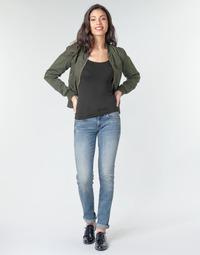 textil Dame Lige jeans G-Star Raw MIDGE MID STRAIGHT WMN Blå