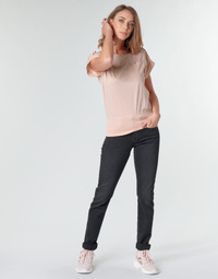 textil Dame Lige jeans G-Star Raw MIDGE MID STRAIGHT WMN Grå / Mørk