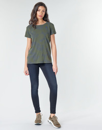 textil Dame Jeans - skinny G-Star Raw 3301 HIGH SKINNY WMN Mørk / Ældet