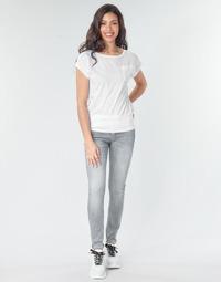 textil Dame Jeans - skinny G-Star Raw Lynn Mid Skinny Wmn Bleget / Industrial / Grå