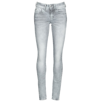 textil Dame Jeans - skinny G-Star Raw LYNN MID SKINNY WMN Grå