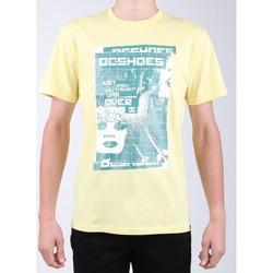textil Herre T-shirts m. korte ærmer DC Shoes DC SEDYZT03769-YZL0 yellow