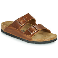 Sko Tøfler Birkenstock ARIZONA LEATHER Brun