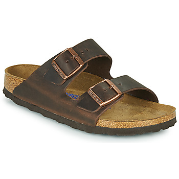 Sko Dame Tøfler Birkenstock ARIZONA SFB LEATHER Brun