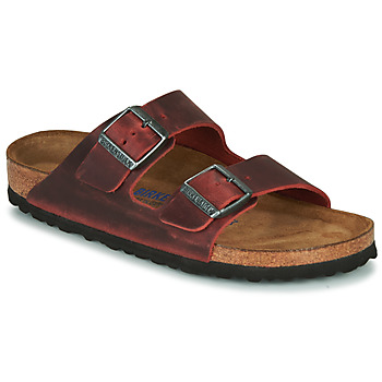 Sko Dame Tøfler Birkenstock ARIZONA SFB LEATHER Bordeaux