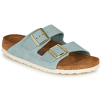 Sko Dame Tøfler Birkenstock ARIZONA SFB LEATHER Blå