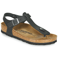 Sko Dame Sandaler Birkenstock KAIRO LEATHER Sort