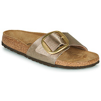 Sko Dame Tøfler Birkenstock MADRID BIG BUCKLE Graceful / Muldvarpegrå
