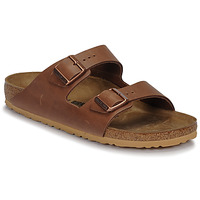 Sko Herre Tøfler Birkenstock ARIZONA LEATHER Antik / Espresso