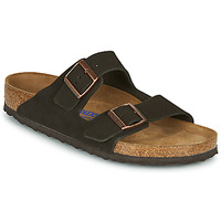 Sko Herre Tøfler Birkenstock ARIZONA SFB LEATHER Brun