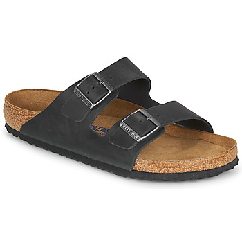 Sko Herre Tøfler Birkenstock ARIZONA SFB LEATHER Sort