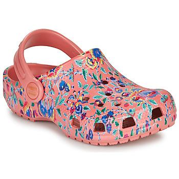 Sko Dame Træsko Crocs LIBERTY LONDON X CLASSIC LIBERTY GRAPHIC CLOG K Pink