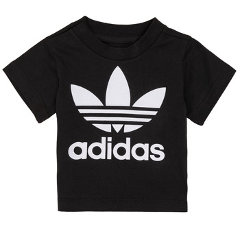 textil Børn T-shirts m. korte ærmer adidas Originals MARGOT Sort