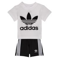 textil Børn Sæt adidas Originals CAROLINE Hvid / Sort