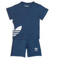 textil Dreng Sæt adidas Originals CYLIA Blå