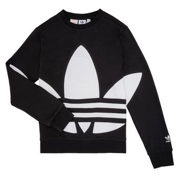 textil Børn Sweatshirts adidas Originals BRIGDA Sort