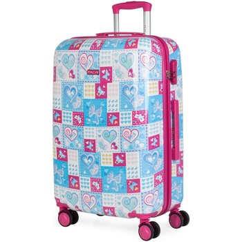 Tasker Pige Hardcase kufferter Itaca ARAS 66 liter Blå-Fuchsia