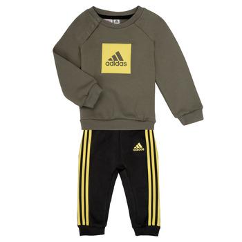 textil Dreng Sæt adidas Performance MERLO Grå / Gul