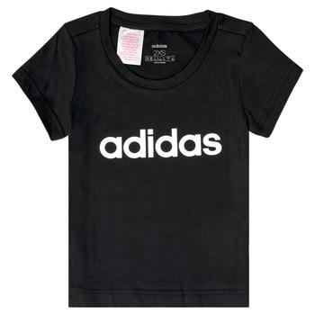 textil Pige T-shirts m. korte ærmer adidas Performance NATRAZ Sort