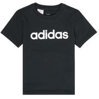 textil Dreng T-shirts m. korte ærmer adidas Performance NATAZO Sort