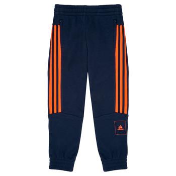 textil Dreng Træningsbukser adidas Performance PERIOLRI Marineblå