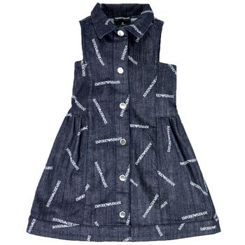 textil Pige Korte kjoler Emporio Armani  Blå