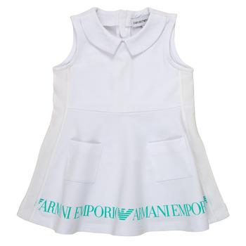 textil Pige Korte kjoler Emporio Armani Apollinaire Hvid