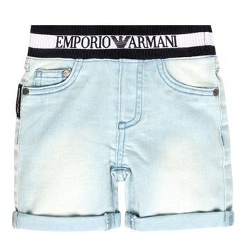 textil Dreng Shorts Emporio Armani Ariel Blå