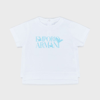 textil Dreng T-shirts m. korte ærmer Emporio Armani Arthus Hvid
