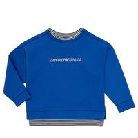 textil Dreng Sweatshirts Emporio Armani Aurèle Blå