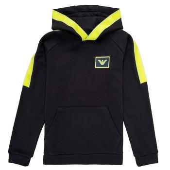 textil Dreng Sweatshirts Emporio Armani Abel Marineblå / Grøn